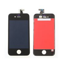 Apple Black iPhone 4S 4GS Front LCD Display+Touch Digitizer Screen Assembly