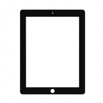 Black Apple iPad 2 Touch Screen Digitizer Replacement