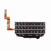 Black Blackberry Q10 Full Keyboard Flex Cable Replacement Parts