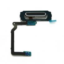 Black Fingerprint Home Button Navigation Flex Cable Samsung Galaxy S5 i9600 G900