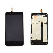 Black LCD Monitor Touch Screen Digitizer Lens Assembly for Nokia Lumia 625