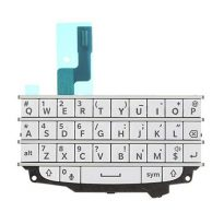 Blackberry Q10 Full White Keyboard Flex Cable Replacement Parts