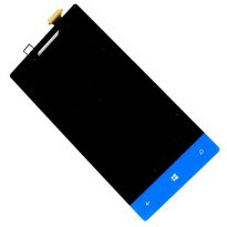 HTC Windows 8S A620e Touch Digitizer LCD Screen Full Assembly - Blue