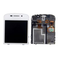 LCD Display + Touch Screen Glass Digitizer Assembly for Blackberry Q10 - White