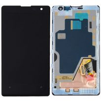 Nokia Lumia 1020 LCD Display Touch Digitizer Screen Assembly + Back Frame