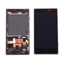 nokia-lumia-830-lcd-assembly-with-frame-black