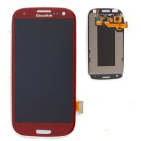 Samsung Galaxy S3 i9300 i747 Touch Screen Digitizer LCD Display Assembly RED
