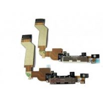 USB Dock Connector Charger Charging Ribbon Flex Cable For iPhone 4S 4GS White