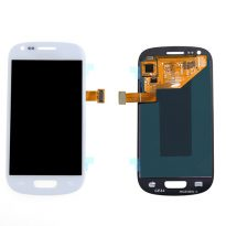 WHITE Samsung Galaxy S3 mini i8190 LCD Display + Digitizer Touch Glass Lens Assembly