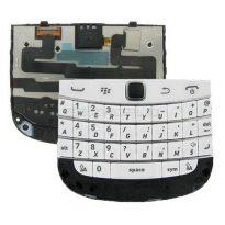 White Blackberry Bold 9900 9930 Keyboard Trackpad Flex Membrane Ribbon Cable