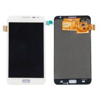 White Samsung Galaxy Note i717 Front LCD Touch Digitizer Screen Assembly