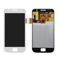 White Samsung Galaxy S i9000 LCD Display + Digitizer Touch Glass Lens Assembly