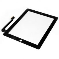 iPad 4th Gen Touch Screen Glass Lens Digitizer Black