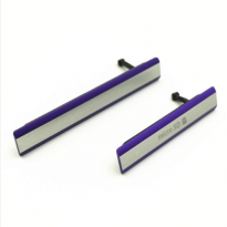 sony z2 charge port cover set purple
