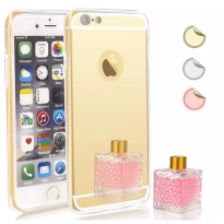 iphone 6s mirror case - gold