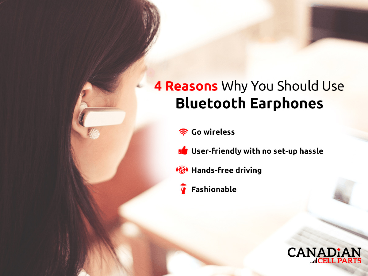 4 Reasons Why You Should Use Bluetooth Earphones