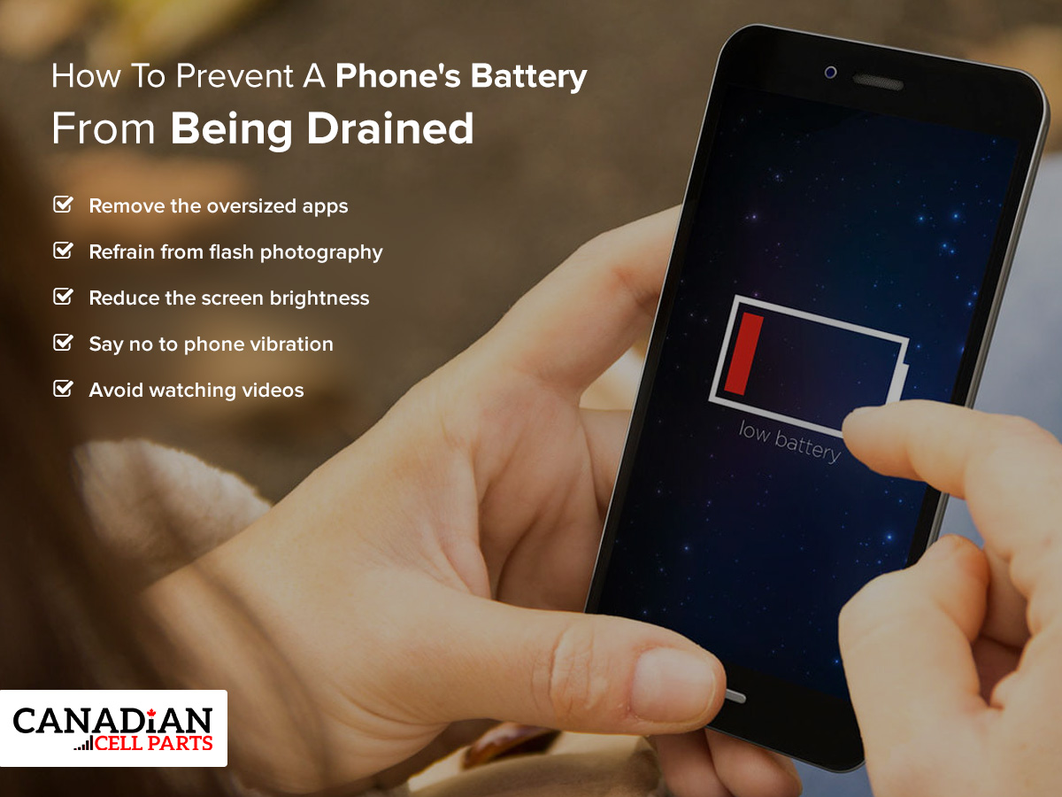 How To Prevent A Phone's Battery From Being Drained