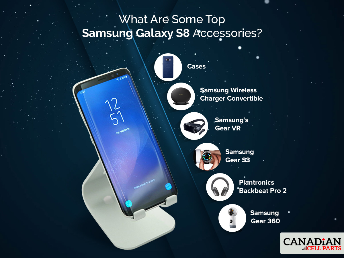 What Are Some Top Samsung Galaxy S8 Accessories?