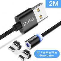 raxfly-magnetic-cable-lightning-huawei-p20-2lightning