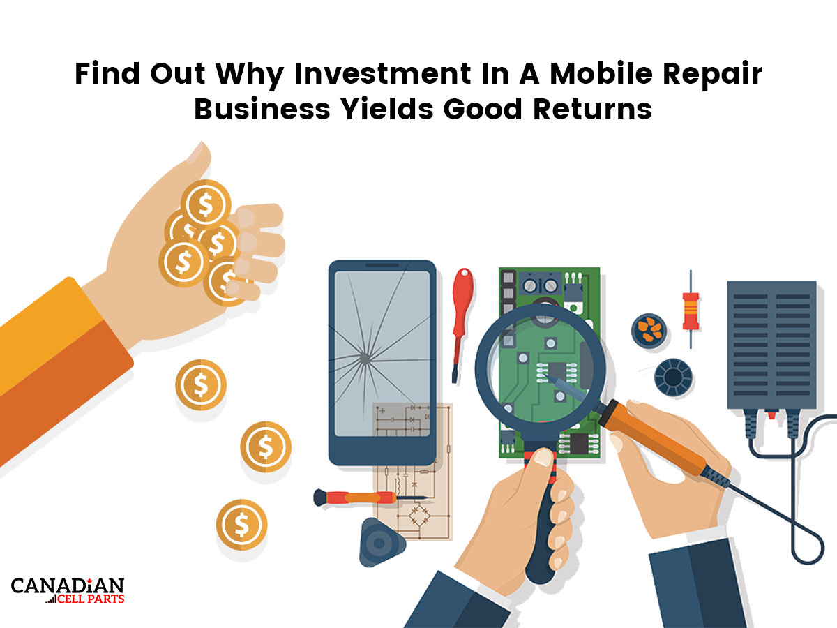 Find Out Why Investment In A Mobile Repair Business Yields Good Returns