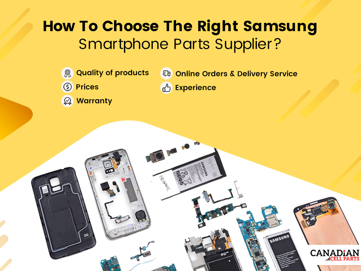 How To Choose The Right Samsung Smartphone Parts Supplier?