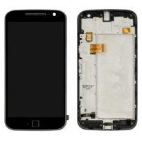 Motorola Moto G4 Plus LCD and Digitizer with Frame - Black