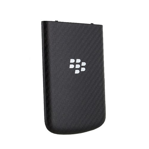 buy online 4ca90 fe9fe BlackBerry Q10 Battery Door Back Cover - Black