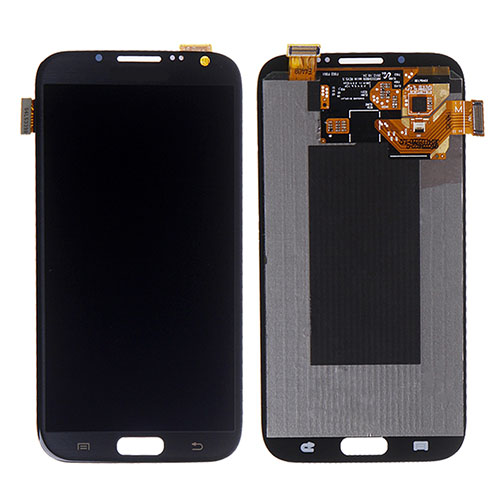 Samsung Galaxy Note 2 i317 Front Assembly with Frame – Grey