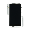 HTC One M8 LCD Screen and Digitizer Assembly with Frame - Silver