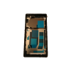 Sony Xperia Z L36h C6603 C6602 Middle Frame Bezel Housing - Black