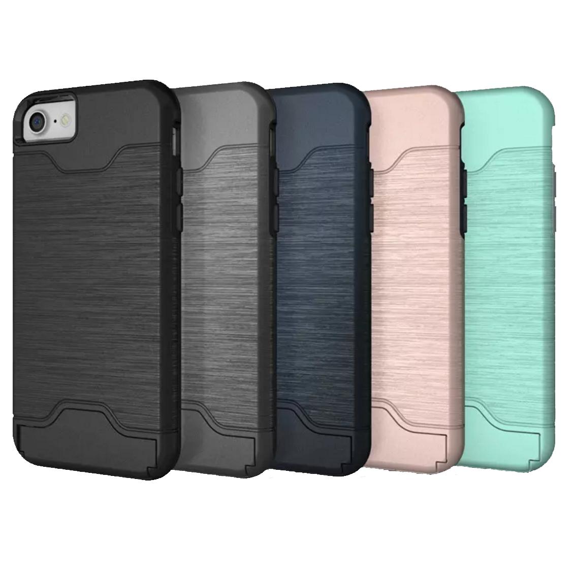 outlet store 15574 62eb8 iPhone 6S Plus Card Slot Case - Blue