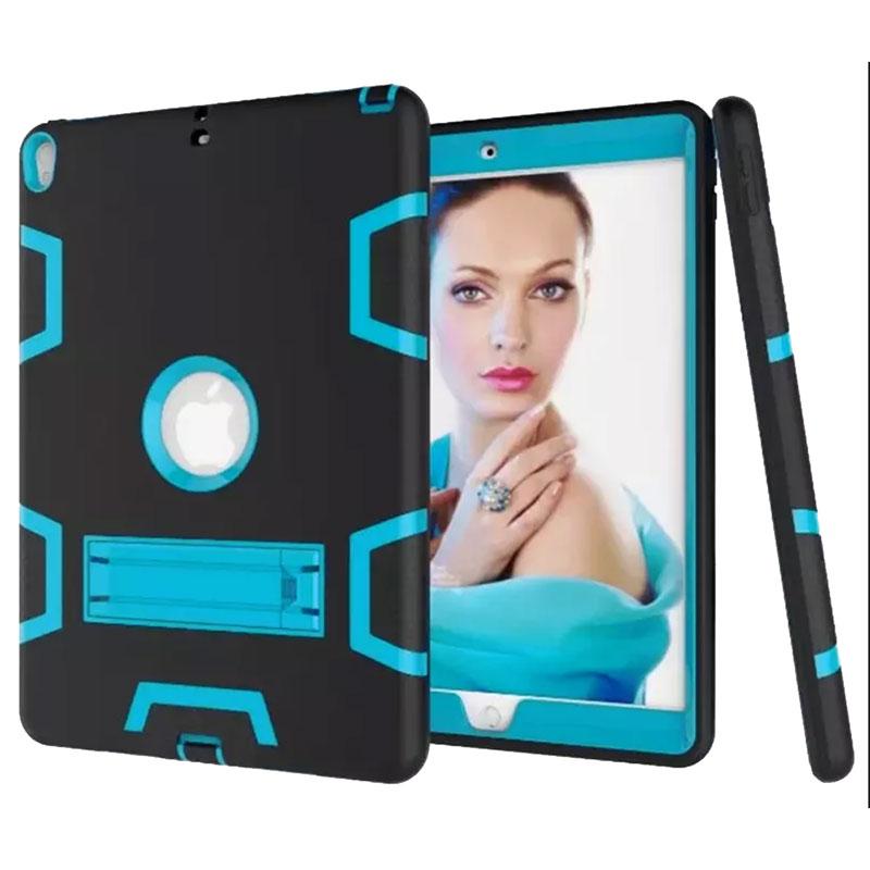 iPad [4th Gen] 4G 3 in 1 Defender Case – Black / Blue