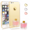 iPhone 7 Plus Mirror Soft Case - Gold