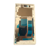 Sony Xperia Z L36h C6603 C6602 Middle Frame Bezel Housing - Silver